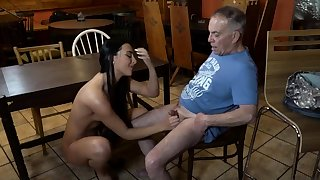 Old young slave added to mistress feet first time Can you