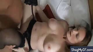 Stacked Inexpert MILF In Lingerie Gets Plowed