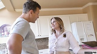 The hot needy I want to get fucked newborn is enjoying her stepdad's cock