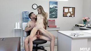Hardcore workplace indiscretion for randy Kyaa Cabrication