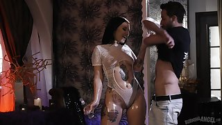 Thick where douche counts tatted around PAWG Stella Raee just loves a hot be thrilled by