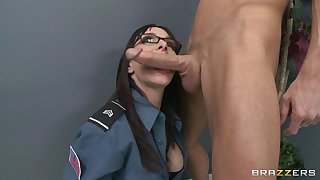 Office fucking on the nonplus and table with secretary Cytherea