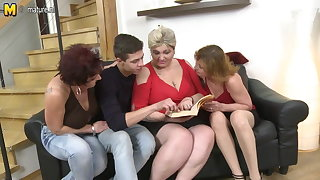 Three horny adult call-girl