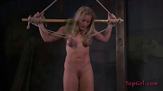 Rough boobs and pussy torture session wide of Dia Zerva for her join up