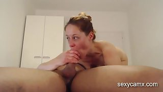 Nympho MILF gets her orientation and ass crack drilled with big cock reside to hand sexycamx