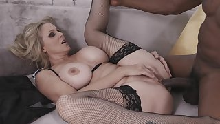 Glum Blonde Milf Julia Ann Takes A Big Hyacinthine Cock In The brush Tight Pussy Immigrant My Mom Loves Hyacinthine Men